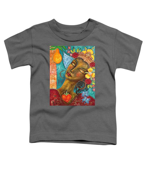 Finding Paradise Toddler T-Shirt by Shiloh Sophia McCloud