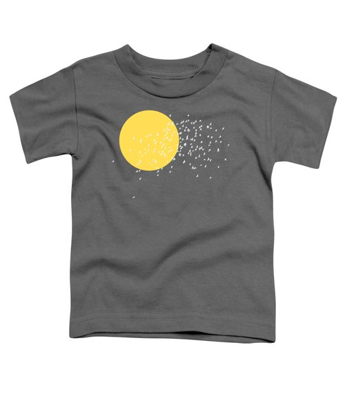 Flying Home Toddler T-Shirt by Sverre Andreas Fekjan