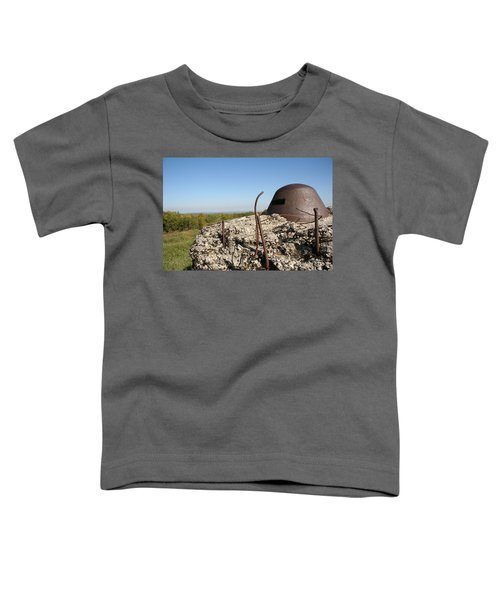 Toddler T-Shirt featuring the photograph Fort De Douaumont - Verdun by Travel Pics