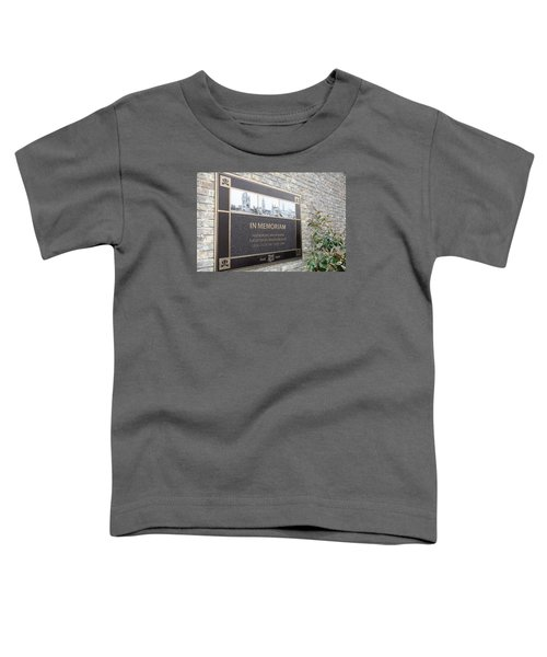 Toddler T-Shirt featuring the photograph In Memoriam - Ypres by Travel Pics