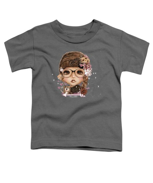 Java Joanna Toddler T-Shirt by Sheena Pike