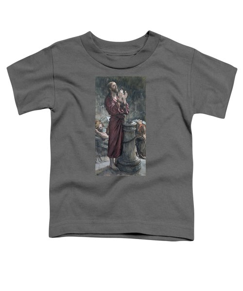 Jesus In Prison Toddler T-Shirt by Tissot