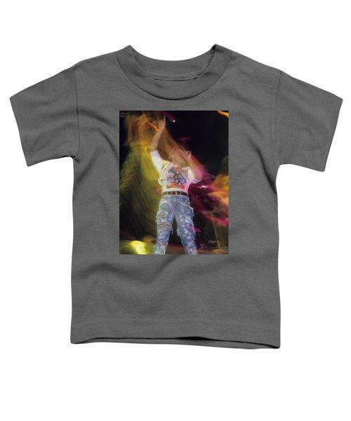Joe Elliott Toddler T-Shirt by Rich Fuscia
