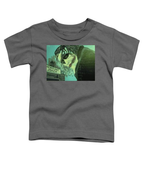 Joker Toddler T-Shirt by Scott Murphy