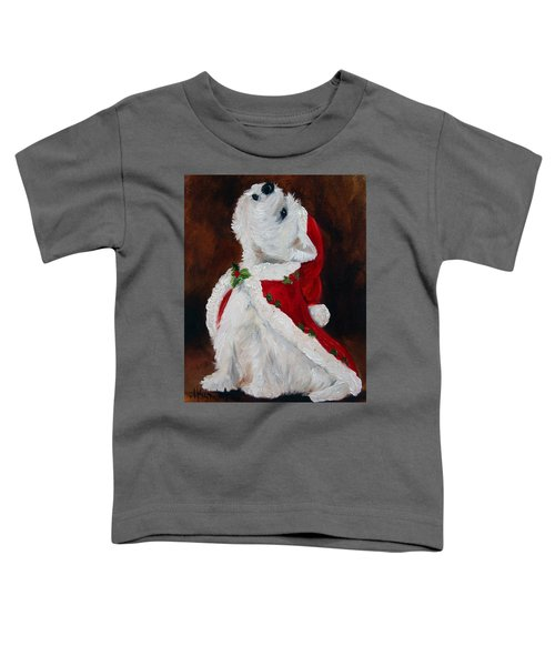 Joy To The World Toddler T-Shirt by Mary Sparrow