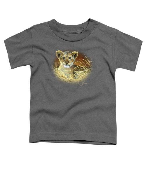 King To Be Toddler T-Shirt by Lucie Bilodeau
