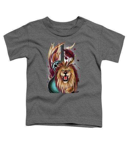 Leo Toddler T-Shirt by Melanie D
