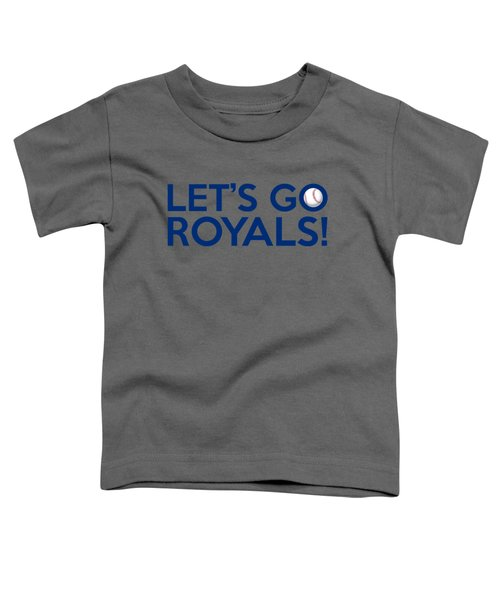 Let's Go Royals Toddler T-Shirt by Florian Rodarte