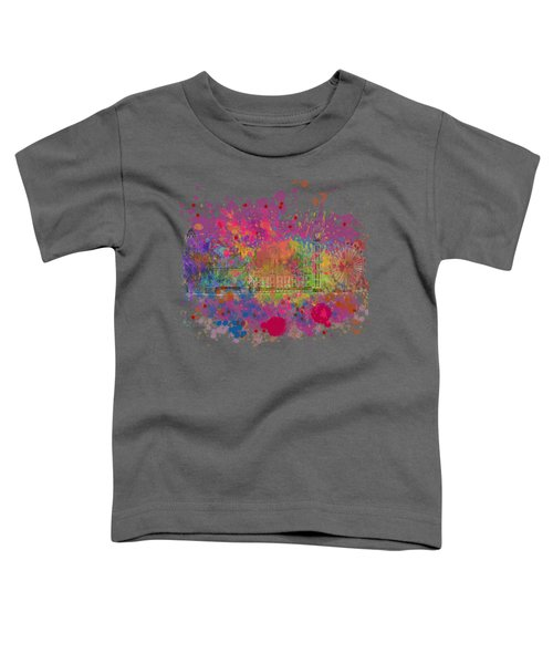 London Colour Toddler T-Shirt by Dave H
