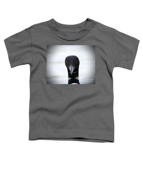 Loon Stare Toddler T-Shirt by Peter Gray