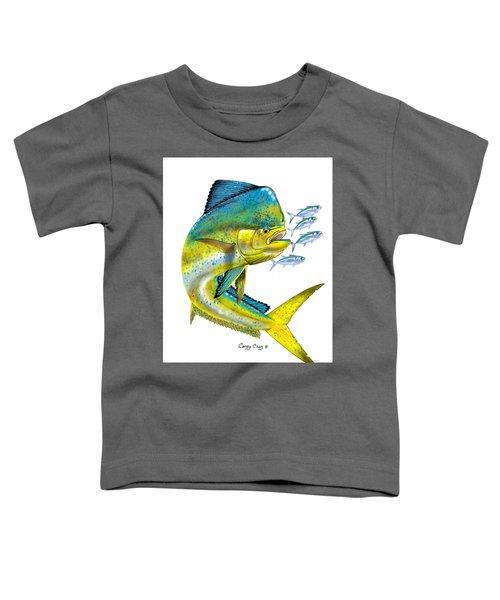 Mahi Digital Toddler T-Shirt by Carey Chen