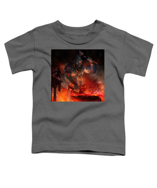 Maker Of The World Toddler T-Shirt by Ryan Barger