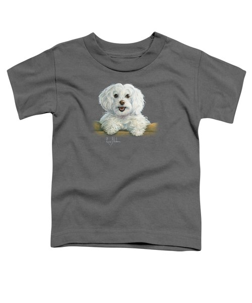 Mimi Toddler T-Shirt by Lucie Bilodeau
