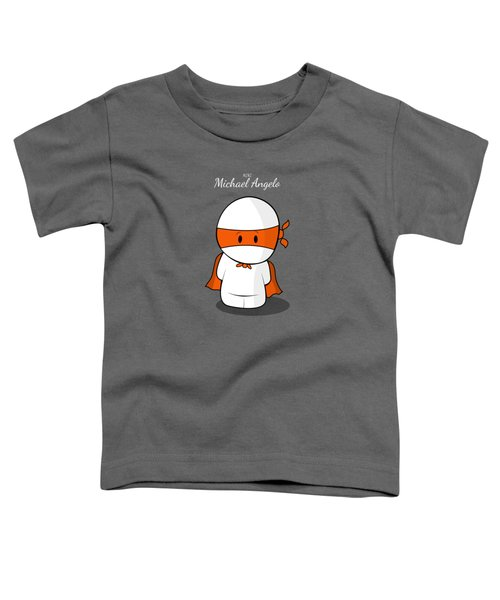 Mini Super Hero Toddler T-Shirt by Islam Hassan