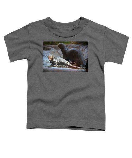 Moooommmmy Toddler T-Shirt by Jamie Pham
