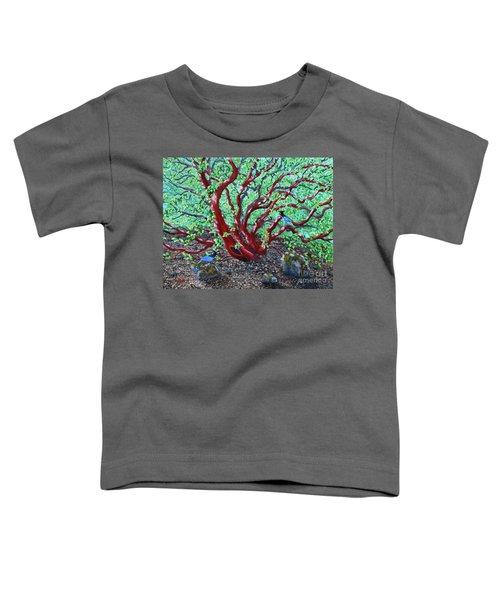 Morning Manzanita Toddler T-Shirt by Laura Iverson