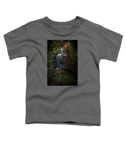 Mr Alley Gator Toddler T-Shirt by Marvin Spates