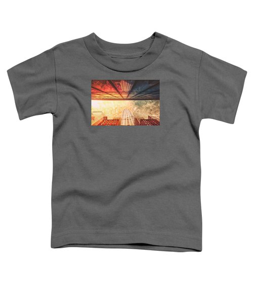 New York City - Chrysler Building Toddler T-Shirt by Vivienne Gucwa