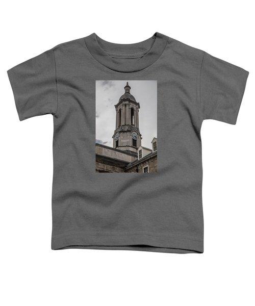 Old Main Penn State Clock  Toddler T-Shirt by John McGraw