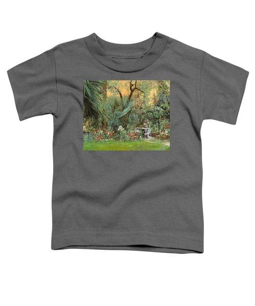 Our Little Garden Toddler T-Shirt by Guido Borelli