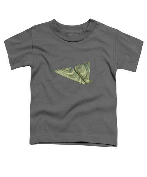 Paper Airplanes Of Wood 19 Toddler T-Shirt by YoPedro