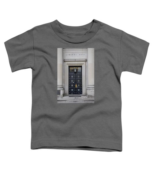 Penn State University Liberal Arts Door  Toddler T-Shirt by John McGraw