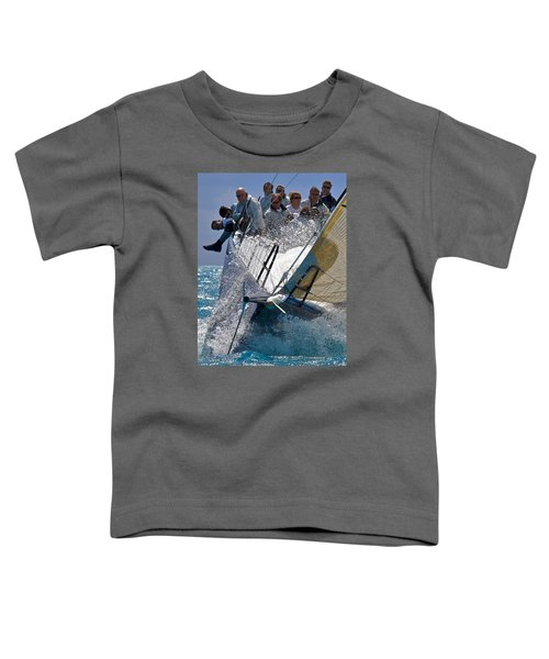 Point Toddler T-Shirt by Steven Lapkin