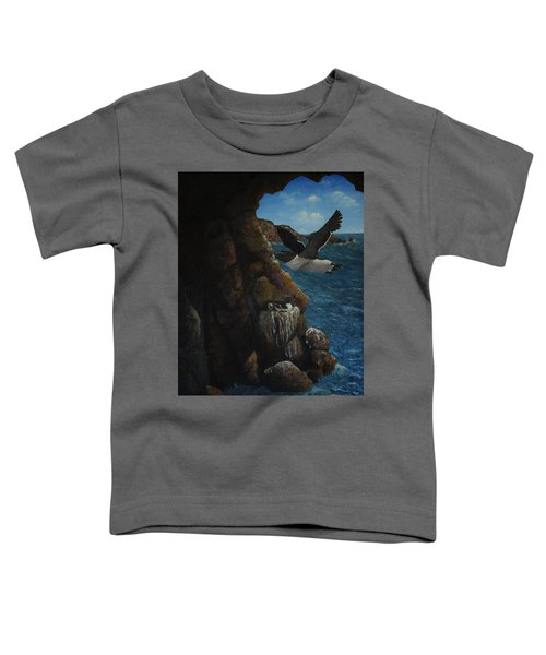 Razorbills Toddler T-Shirt by Eric Petrie