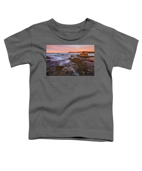 Red Dawning Toddler T-Shirt by Mike  Dawson
