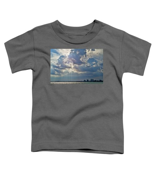 Riding In The Storm Toddler T-Shirt by Camille Lopez