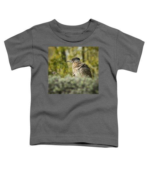 Roadrunner On Guard  Toddler T-Shirt by Saija  Lehtonen