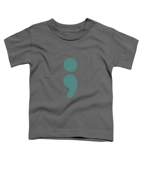 Semicolon 07 Toddler T-Shirt by Bill Owen