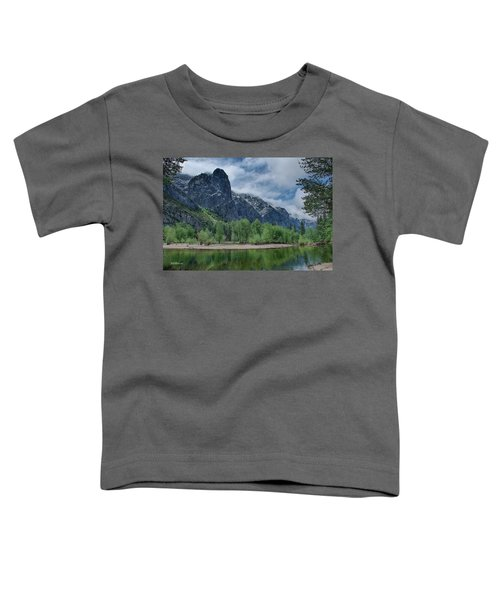 Sentinel Rock After The Storm Toddler T-Shirt by Bill Roberts
