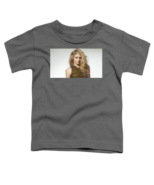 Shakira Toddler T-Shirt by Iguanna Espinosa