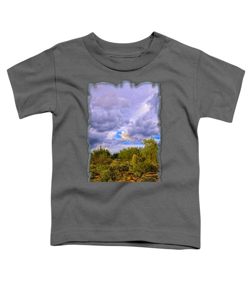Sonoran Desert V13 Toddler T-Shirt by Mark Myhaver