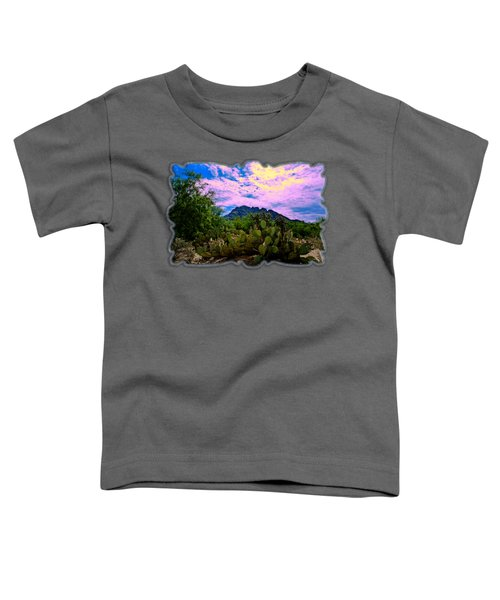Sonoran Morning H54 Toddler T-Shirt by Mark Myhaver