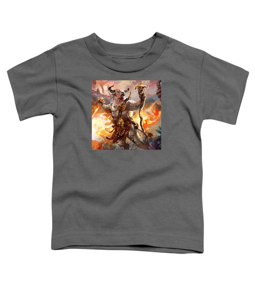 Spiritcaller Shaman Toddler T-Shirt by Ryan Barger