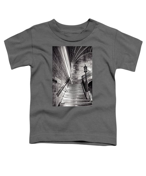 Stairs Of The Past Toddler T-Shirt by CJ Schmit
