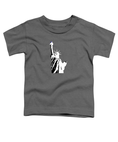Statue Of Liberty #2 Toddler T-Shirt by Frederick Holiday