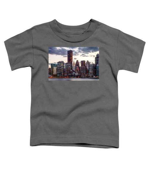 Surrounded By The City Toddler T-Shirt by Az Jackson