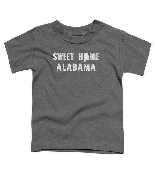 Sweet Home Alabama Toddler T-Shirt by Nancy Ingersoll