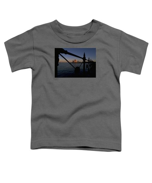 Toddler T-Shirt featuring the photograph Sydney Opera House by Travel Pics
