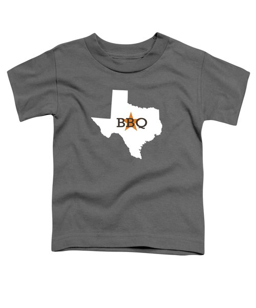 Texas Bbq Toddler T-Shirt by Nancy Ingersoll