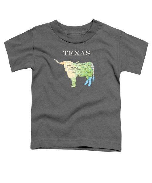 Texas Toddler T-Shirt by Art Spectrum