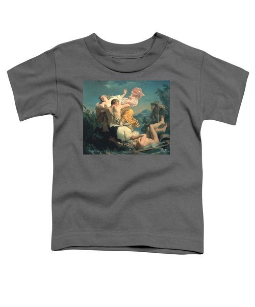 The Abduction Of Deianeira By The Centaur Nessus Toddler T-Shirt by Louis Jean Francois Lagrenee