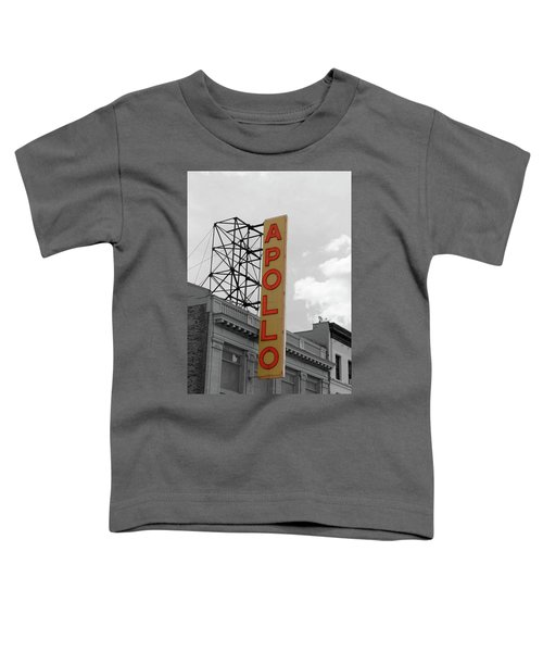 The Apollo In Harlem Toddler T-Shirt by Danny Thomas