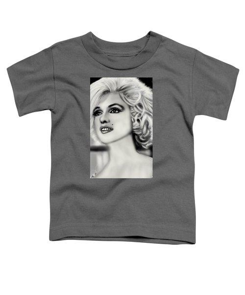 The Blonde Bombshell  Toddler T-Shirt by Pat Carafa
