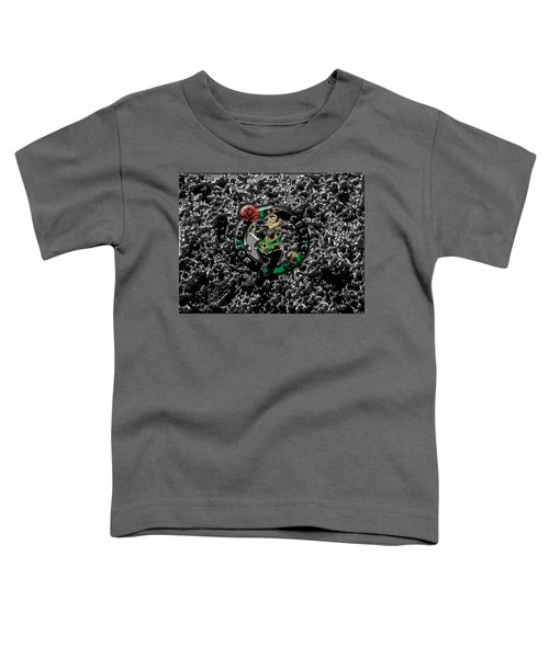 The Boston Celtics 1a Toddler T-Shirt by Brian Reaves