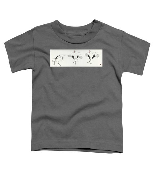 The Curtsy Lesson Toddler T-Shirt by Stephanie Grant