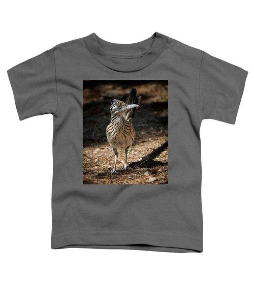 The Greater Roadrunner Walk  Toddler T-Shirt by Saija Lehtonen